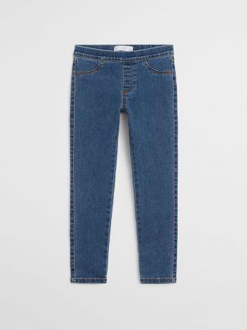 ג'ינס ארוך עם גומי / בנות של MANGO