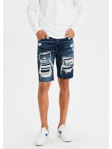 ג'ינס קצר עם קרעים של AMERICAN EAGLE