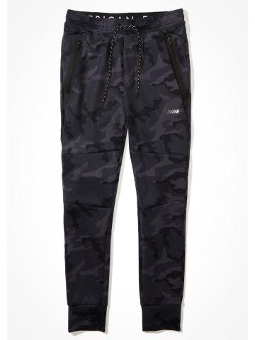 מכנסי טרנינג בהדפס קמופלאז' / גברים של AMERICAN EAGLE