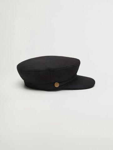 כובע צמר קסקט של MANGO