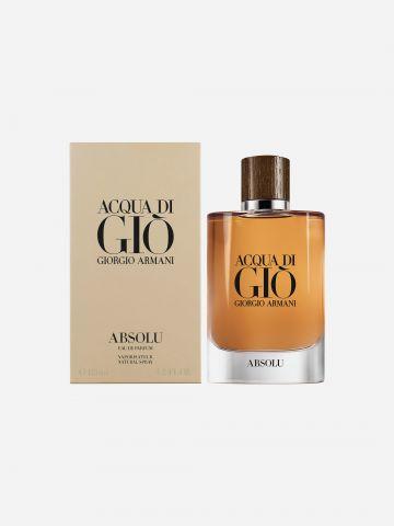 בושם לגבר א.ד.פ Aqua Di Gio Absolu 125ml של GIORGIO ARMANI