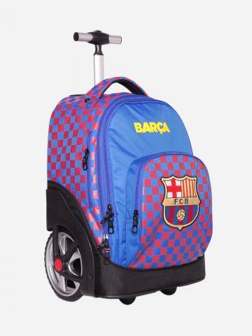 תיק על גלגלים בדוגמת Barca / בנים של KAL GAV