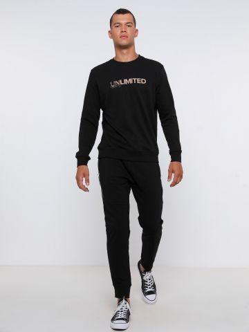 מכנסי טרנינג עם סטריפים של FOX