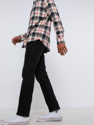 מכנסי ג'ינס בגזרה ישרה של FOX