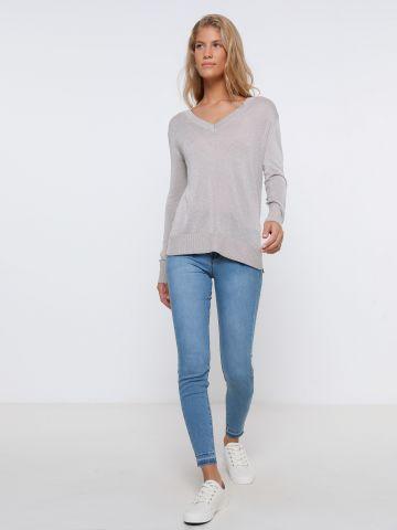 ג'ינס סקיני ארוך של FOX