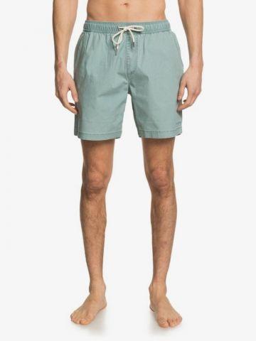 מכנסיים קצרים עם גומי במותן של QUIKSILVER