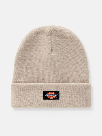כובע צמר עם פאץ' לוגו / גברים של DICKIES