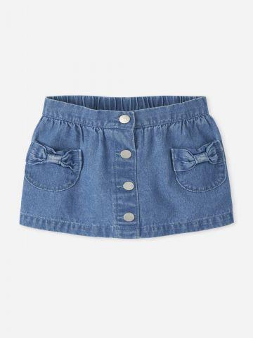 חצאית ג'ינס עם כיסים / 9M-5Y של THE CHILDREN'S PLACE