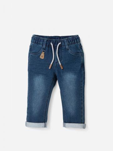 ג'ינס ארוך עם גומי / 0-5Y של SHILAV