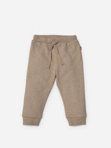 מכנסי טרנינג ארוכים חלקים / בנים של SHILAV