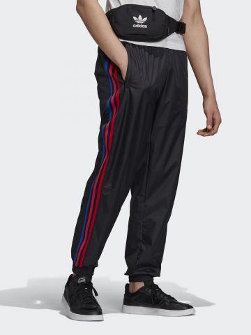 מכנסי טראק שלושה פסים מולטי קולור של ADIDAS Originals