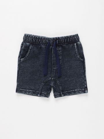 מכנסי טרנינג קצרים דמוי ג'ינס / 9M-5Y של THE CHILDREN'S PLACE