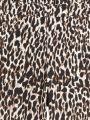 מכנסי קרופ בהדפס מנומר של BANANA REPUBLIC image №8